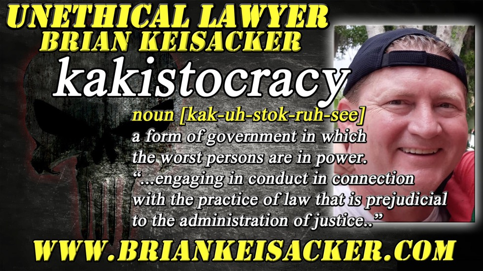 BRIAN KEISACKER ethics violation