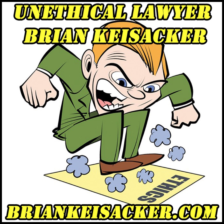 Brian Keisacker NO ethical or moral compass