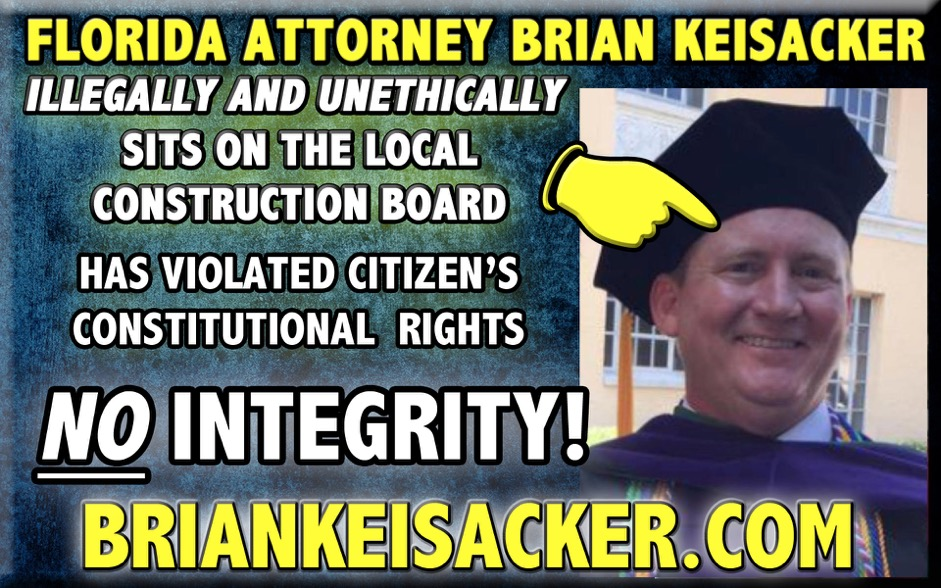 BRIAN KEISACKER NO INTEGRITY