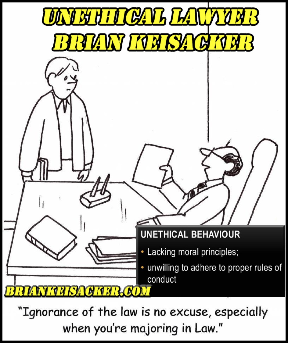Brian Keisacker Seriously?