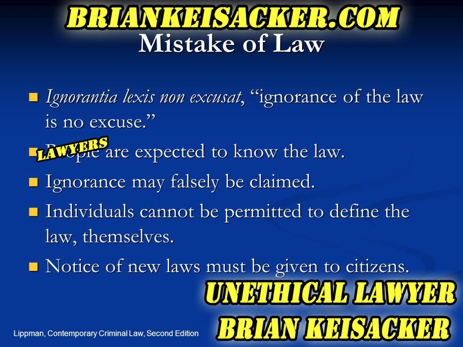 Brian Keisacker US Constitutional Rights violator