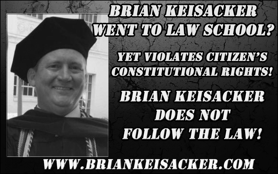 LAW SCHOOL GRADUATE BRIAN KEISACKER