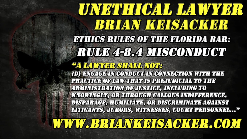 VERY SMUG AND UNJUSTIFIABLE BRIAN KEISACKER 14