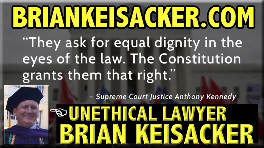 WHAT THE HELL 666 IS LAWYER BRIAN KEISACKER 666